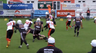 AFC Union Mostviertel Bastards vs Weinviertel Spartans 28:14