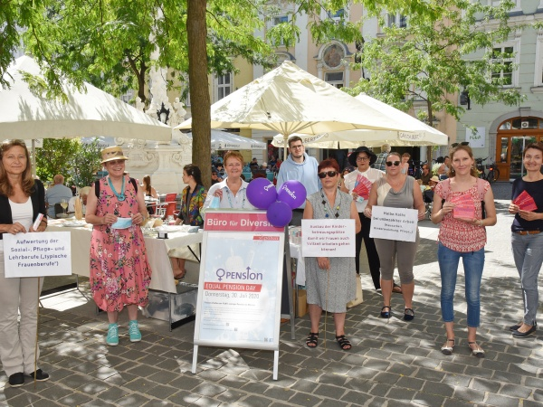 Equal Pension Day: Frauenpensionen bleiben niedrig-
